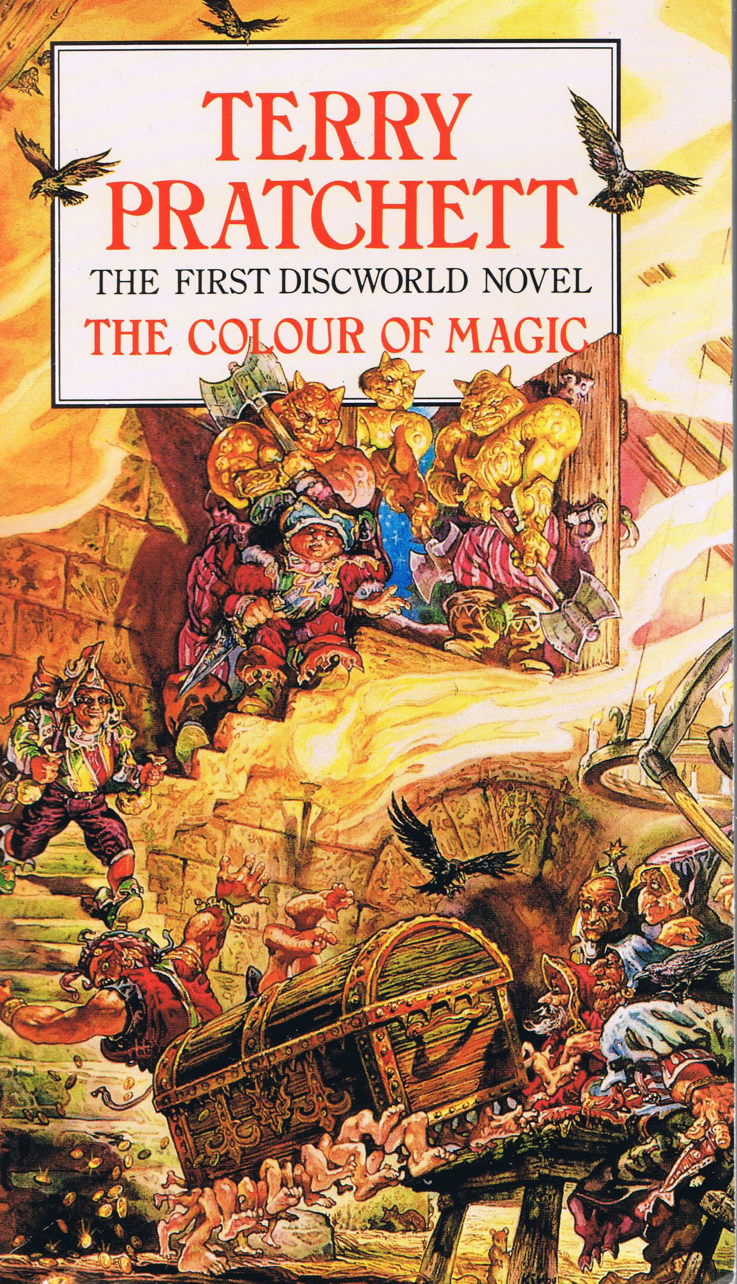 The Fantasy Slapstick of the Colour of Magic – PUZZLED PAGAN PRESENTS