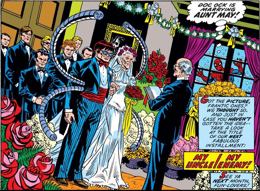 Doc Ock Wedding Ceremony