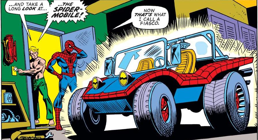 Doc Ock Wedding Spidermobile