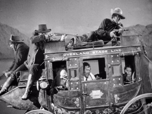Stagecoach Battle