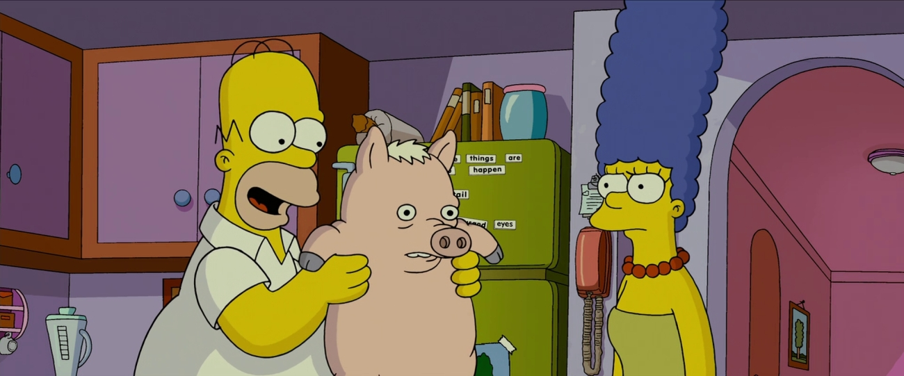The Simpsons Movie Puzzled Pagan Presents