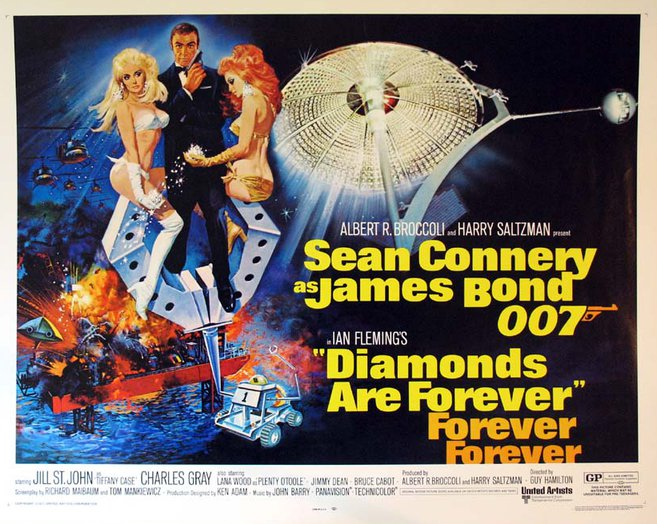 Image result for diamonds are forever poster banner